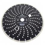 """Диск алмазный сегмент """"ПРОФИ"""" 350х10х32/25.4 мм, армир.бетон, ЧЕГЛОК (10)"""
